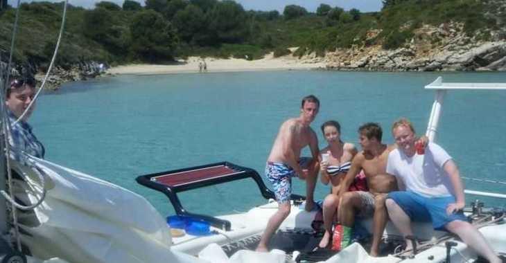 Rent a catamaran in Port of Fornells - Rush 10
