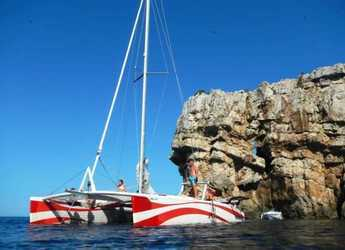 Rent a catamaran in Port of Fornells - Rush 10