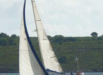 Rent a sailboat Wauquiez Gladiateur 34 in Port of Fornells, Fornells