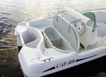 Rent a dinghy Cap 400 in Marina de Dénia, Denia