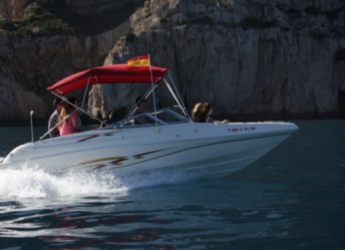 Rent a motorboat in Marina de Dénia - Rinker 212