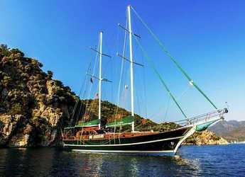 Rent a schooner in Leros - Fethiye