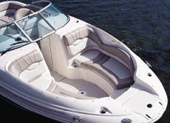 Rent a motorboat Sea Ray 190 SD in Marina el Portet de Denia, Denia