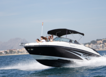 Rent a motorboat in Marina de Dénia - Rinker 246