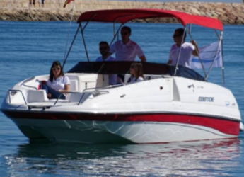 Rent a motorboat Ebbtide 2400 in Marina el Portet de Denia, Denia