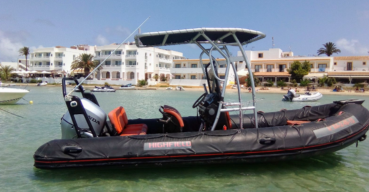 Rent a dinghy in Marina Palamos - Highfield 5.5