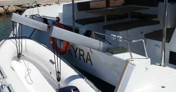 Alquilar catamarán Helia 44 en Marina el Portet de Denia, Denia