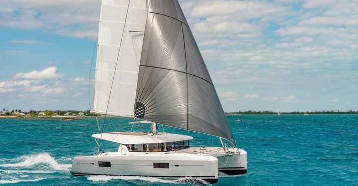 Rent a catamaran in Marina Gouvia - Lagoon 42 AC & GEN