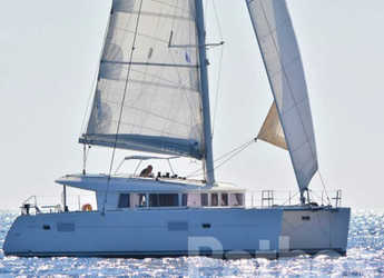 Rent a catamaran in Marina Skiathos  - Lagoon 400.