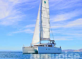 Rent a catamaran in Port Lavrion - Lagoon 400 S2.