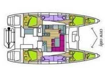 Louer catamaran Lagoon 450 à Prickly Bay Marina, Lance aux Epines
