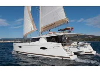Louer catamaran à Cala dei Sardi - Helia 44