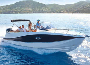 Rent a motorboat Quicksilver Activ 755 in Veruda, Pula