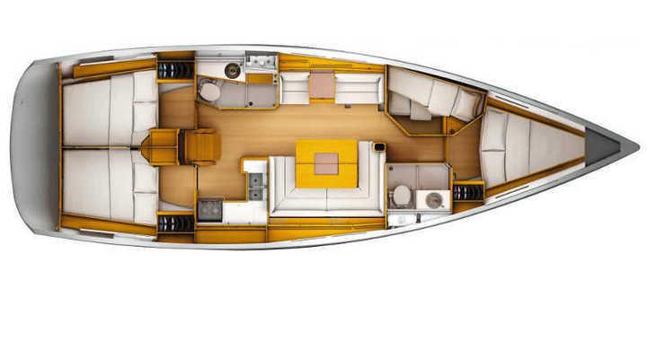 Rent a sailboat Sun Odyssey 449 in Marina Kornati, Kornati-Biograd