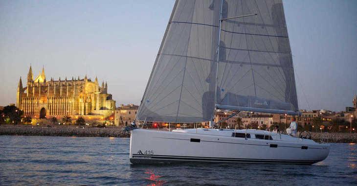 Alquilar velero Hanse 415 en Real Club Nautico de Palma, Palma de mallorca