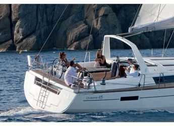 Rent a sailboat in Marina Gouvia - Oceanis 45 (3Cab)