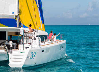 Rent a catamaran in Marina Gouvia - Lagoon 39 (4Cab)