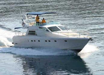 Rent a yacht in Alimos Marina Kalamaki - Ferretti 52