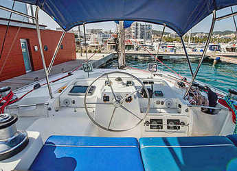 Rent a catamaran Lagoon 440 in Port Vell, Barcelona City
