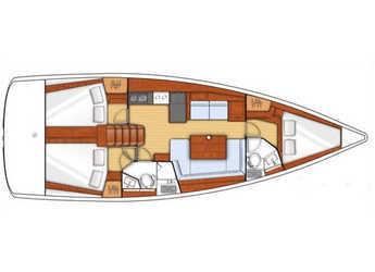 Rent a sailboat Oceanis 41 in Mykonos, Mykonos