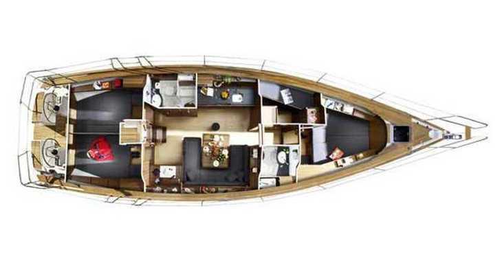 Rent a sailboat Bavaria 47 Cruiser in Paros, Paros