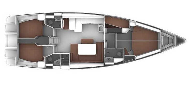 Rent a sailboat in Lefkas Nidri - Bavaria Cruiser 51