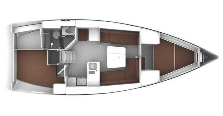 Rent a sailboat in Alimos Marina Kalamaki - Bavaria Cruiser 37/2 cbs