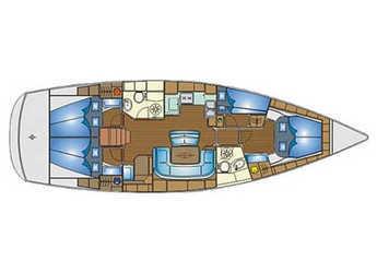 Rent a sailboat Bavaria 46 Cruiser in Mykonos, Mykonos