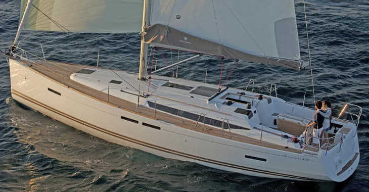 Rent a sailboat in Mykonos - Sun Odyssey 439