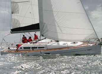 Rent a sailboat in Kos Port - Sun Odyssey 42 i