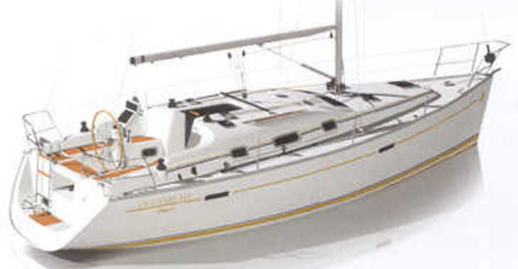 Rent a sailboat in Port Roses - Oceanis 343