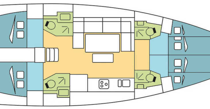 Alquilar velero Dufour 460 Grand Large en Marina Baotić, Seget Donji