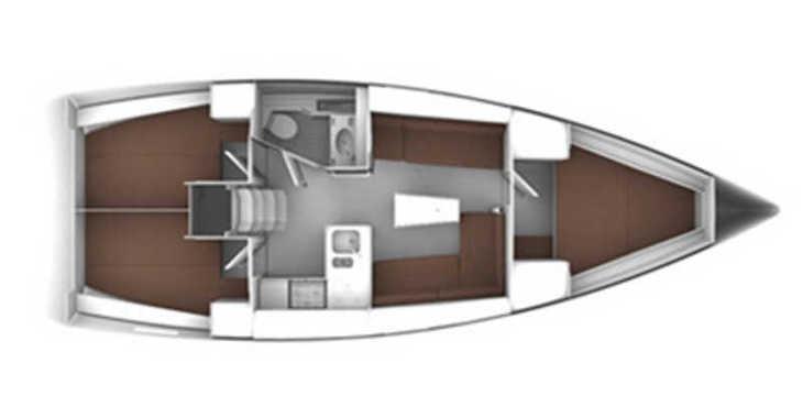 Rent a sailboat in Lefkas Nidri - Bavaria Cruiser 37