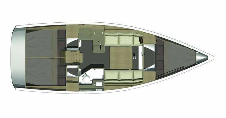 Rent a sailboat in Cala Nova - Dufour 350 Adventure