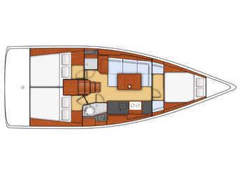 Alquilar velero Beneteau Oceanis 38 en Port Olimpic de Barcelona, Barcelona City