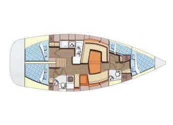 Alquilar velero Elan 434 Impression en Port Olimpic de Barcelona, Barcelona City