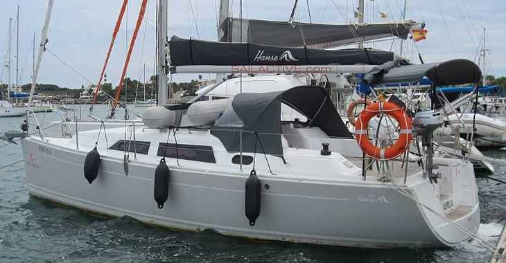 Rent a sailboat in Naviera Balear - Hanse 325