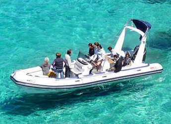 Rent a dinghy Valiant 750 in Marina Ibiza, Ibiza (city)