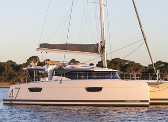 Rent a catamaran in American Yacht Harbor - Saona 47