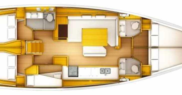 Rent a sailboat in Puerto Deportivo Radazul - Sun Odyssey 519