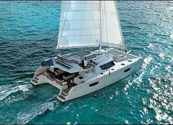 Rent a catamaran in Scrub Island - Saba 50
