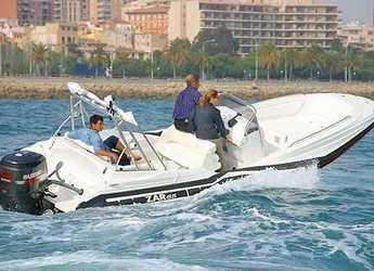 Alquilar lancha en Puerto de Pollença - Zar 65 Suite