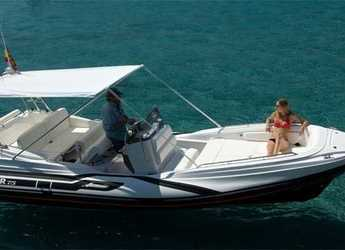 Rent a dinghy in Port of Pollensa - Zar 75 Suite