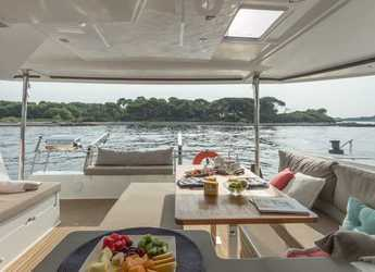 Rent a catamaran Helia 44 in American Yacht Harbor, Red Hook