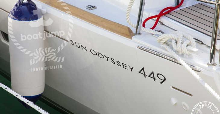 Alquilar velero en Cala Nova - Sun Odyssey 449
