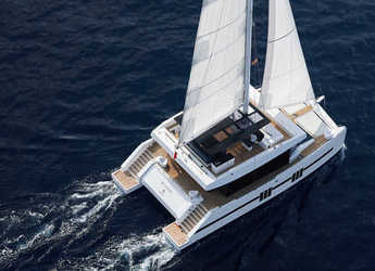 Rent a catamaran in Marina Ibiza - Sunreef 68