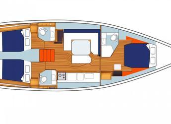 Chartern Sie segelboot Beneteau Oceanis 47 in Inner Harbour Marina (Road Town), Road town