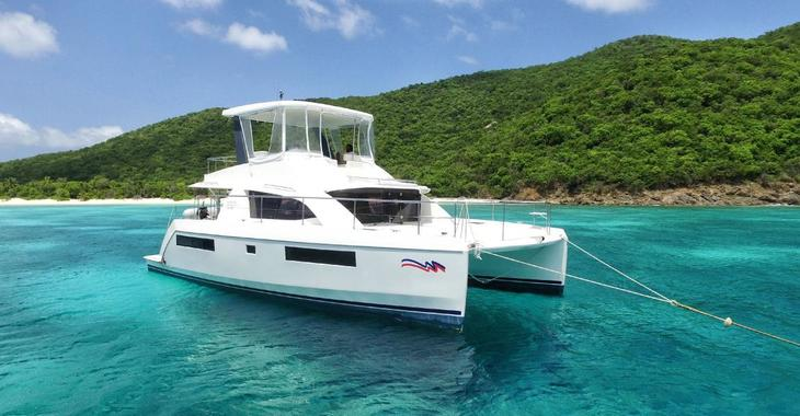 Alquilar catamarán a motor Leopard 433 PC en Palm Cay Marina, Nassau