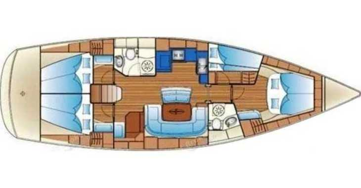 Rent a sailboat Bavaria 46 in Club Nàutic Estartit, Girona