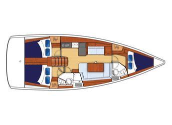 Alquilar velero Beneteau Oceanis 42.3 en Inner Harbour Marina (Road Town), Road town